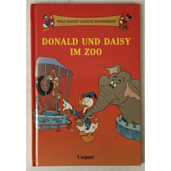 Walt Disney lustige Reimparade: Donald und Daisy im Zoo