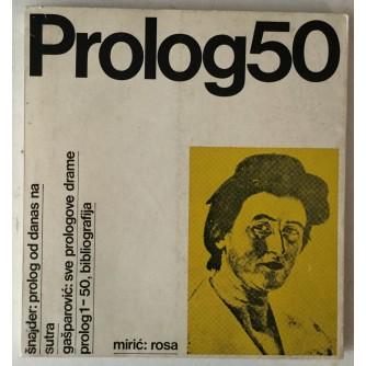 Prolog, časopis broj 50 godina 1981., oprema Mihajlo Arsovski