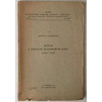 Antun S. Dabinović: Kotor u Drugom skadarskom ratu (1419.-1423.)