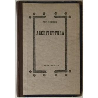 Piero Bargellini: Architettura