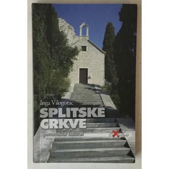 Inga Vilogorac: Splitske crkve, Spomenička baština