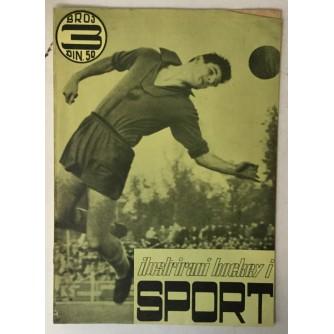 Ilustrirani hockey i sport broj 3/1958.