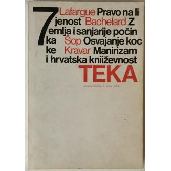 Teka (tekstovi / kritika) 7, godina 1974.
