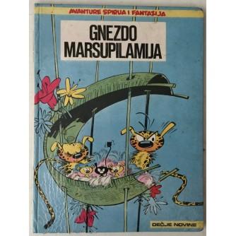 Avanture Spirua i Fantazija, Gnezdo Marsupilamija