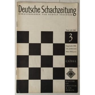 Deutsche Schachzeitung god. 1963. br. 3
