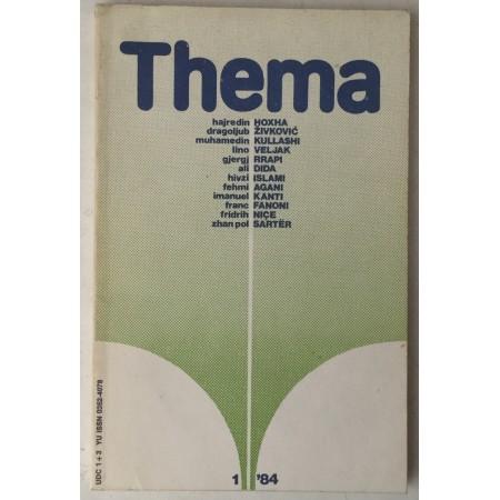 Thema, godina 1984. broj 1