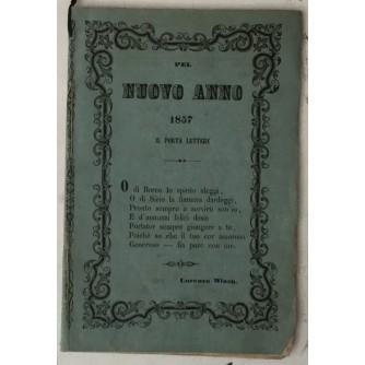 Il Rammentatore Zaratino, Lunario cattolico e greco ad uso della Dalmazia per l'anno 1857