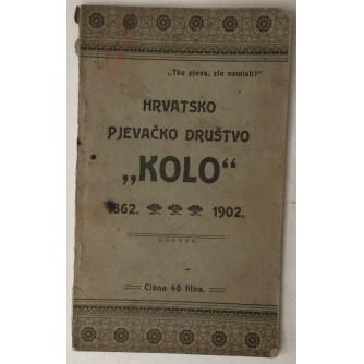 Hrvatsko pjevačko društvo Kolo 1862. - 1902., Raspored svečanosti s uvodom i kratkim vodičem po Zagrebu