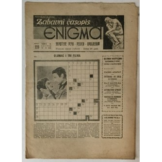 Zabavni časopis Enigma broj 223 godina 1956.