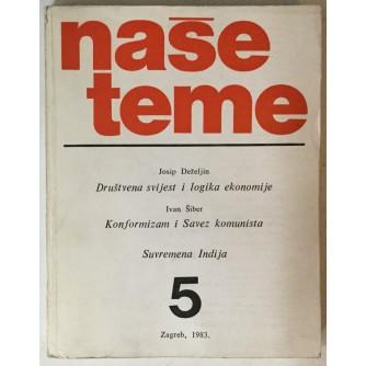 Naše teme, godina XXVII (1983.) broj 5