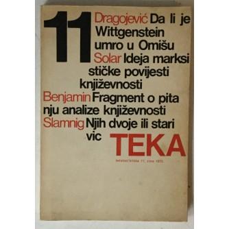 Teka (tekstovi / kritika) 11, godina 1975.