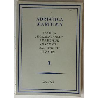 Adriatica maritima Zavoda Jugoslavenske akademije znanosti i umjetnosti u Zadru 3