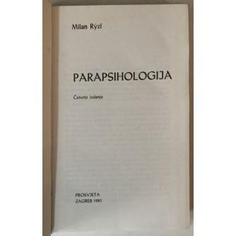 Milan Ryzl: Parapsihologija