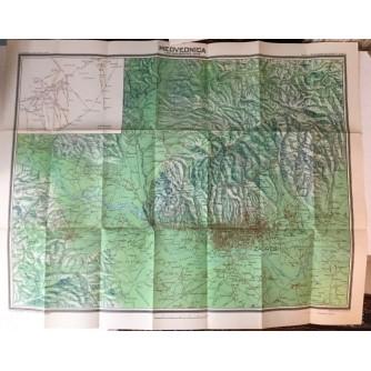 Planinarska karta: Medvednica i dio Samoborske gore