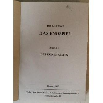 M. Euwe: Das Endspiel, Band 1- Band 8