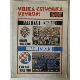 Sportske novosti, Specijalni serijal: Velika četvorka u Europi 1983./84.