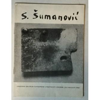 S. Šumanović (katalog izložbe iz 1958. godine)