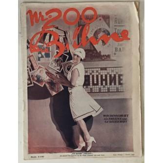 Die Bühne, Wochenschrift für Theater, Kunst, Film, Mode, Gesellschaft, Sport, br. 200 1928. godina