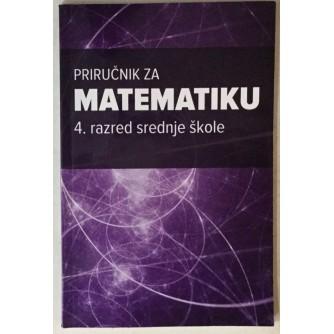 Marina Vukančić: Priručnik za matematiku, 4. razred srednje škole