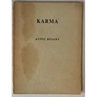 Annie Besant: Karma