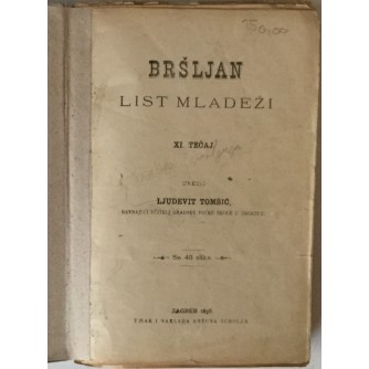 Bršljan, List mladeži godina XI. (1896.) brojevi 1-12