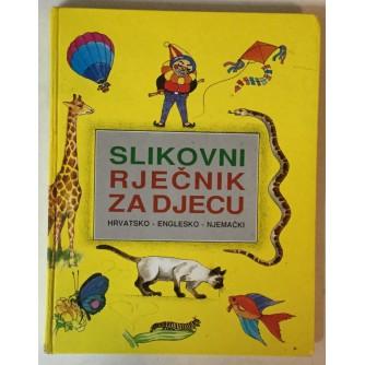 Slikovni rječnik za djecu (hrvatsko-englesko-njemački)