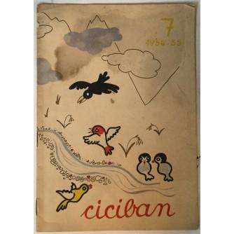 Ciciban, List za naše najmlajše broj 7/1954.-55.