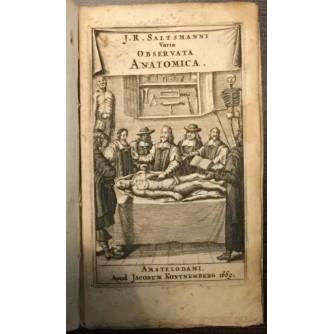 Joan. Rudolphi Saltsmani: Varia observata anatomica