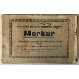 Merkur, Kniha předloh pro kovovou mechanickou stavebnici