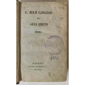 C. Julii Caesaris et Auli Hirtii: Opera