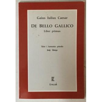 Gaius Iulius Caesar: De bello Gallico, Liber primus