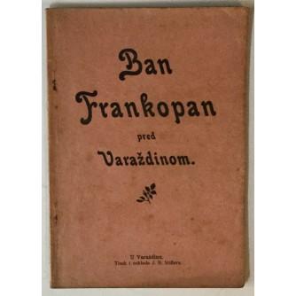 Ban Frankopan pred Varaždinom, Pripoviest iz hrvatske poviesti