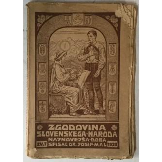 Josip Mal: Zgodovina slovenskega naroda 7, Najnovejša doba