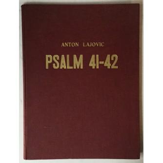 Anton Lajovic: Psalm 41-42 za veliki orkestar, mešani zbor in tenor solo