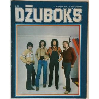 Džuboks glazbeni časopis broj 78/1979.
