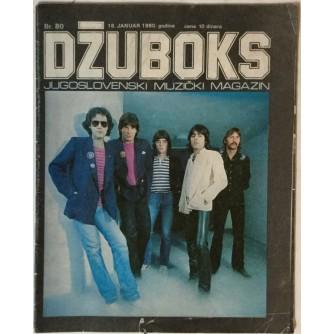 Džuboks glazbeni časopis broj 80/1980.