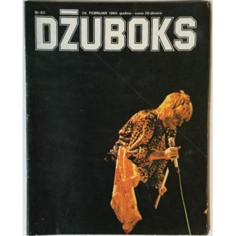 Džuboks glazbeni časopis broj 83/1980.