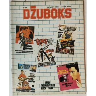 Džuboks glazbeni časopis broj 84/1980.