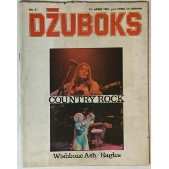 Džuboks glazbeni časopis broj 87/1980.