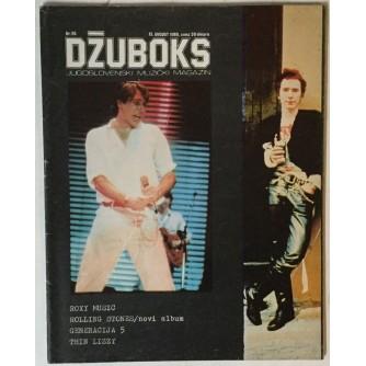 Džuboks glazbeni časopis broj 95/1980.