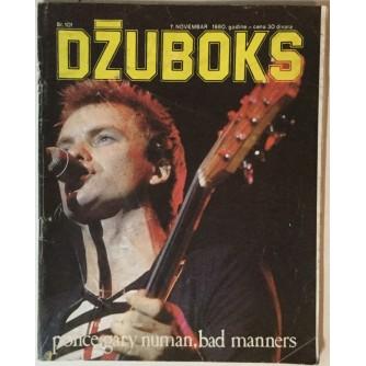 Džuboks glazbeni časopis broj 101/1980.