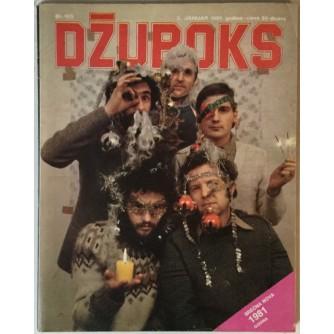 Džuboks glazbeni časopis broj 105/1981.