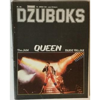 Džuboks glazbeni časopis broj 106/1981.