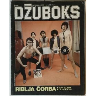 Džuboks glazbeni časopis broj 108/1981.