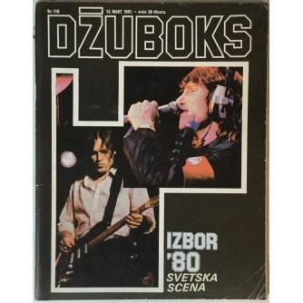 Džuboks glazbeni časopis broj 110/1981.