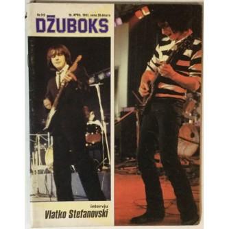 Džuboks glazbeni časopis broj 112/1981.