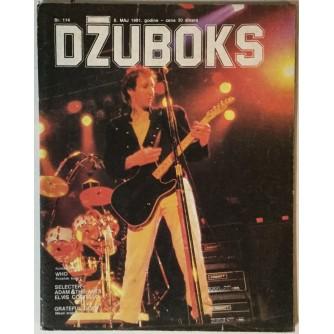 Džuboks glazbeni časopis broj 114/1981.