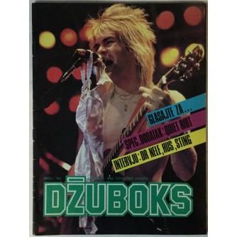 Džuboks glazbeni časopis broj 193/1985.