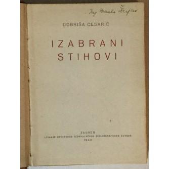 Dobriša Cesarić: Izabrani stihovi