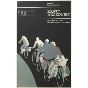 Krsto Hegedušić, plakat izložbe